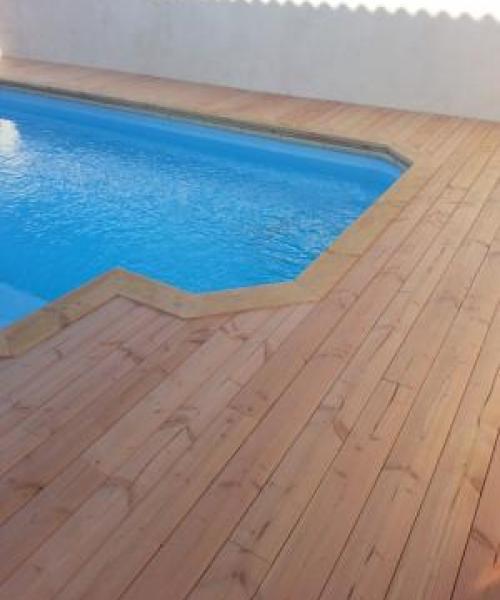 Fiche technique d'une pose de plage de piscine