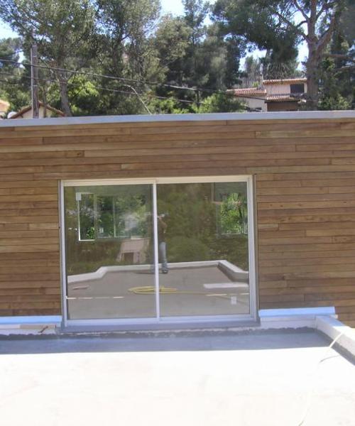 Rénovation / Surélévation de maison en bois