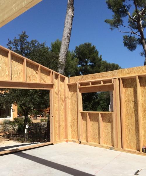 Construction neuve maison bois