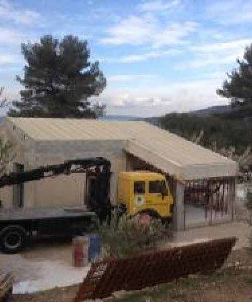 Surélévation des toitures à Auriol