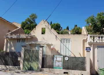 Rénovation tous corps d'état d'un pavillon à Aix en Pce : chantier hors d'eau