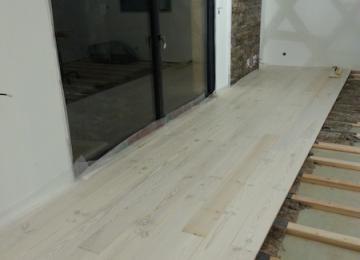 bois massif sur lambourde et isolant complémentaire