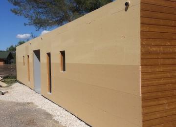 Pose Isolation Thermique Extérieure laine de bois