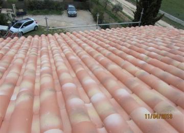 Premier toit posé