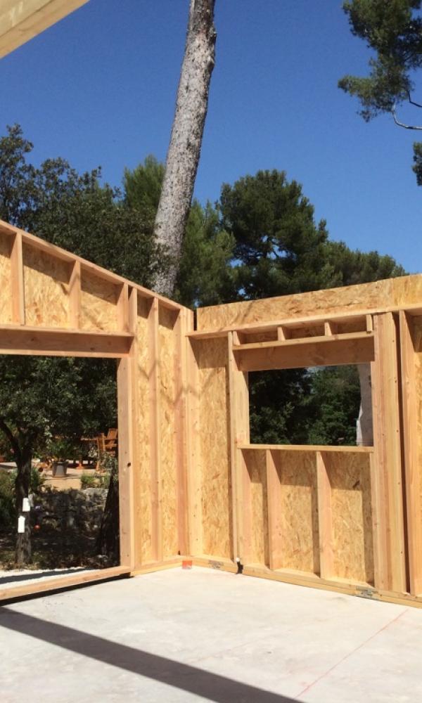Construction neuve La Maison Bois RGE et QUALIBAT