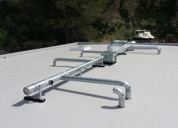 VMC sur toit résiné système agréé Labofrance