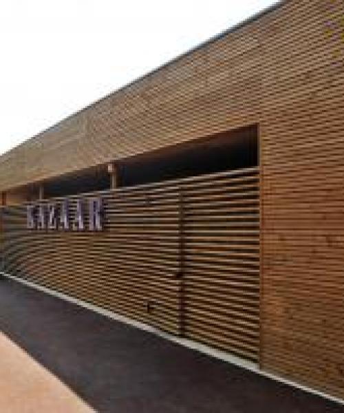 Réalisation d'un restaurant de 500m2 à toit plat près d'Aix-en-Provence