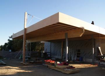 Détails chantier de la Cave Vinicole La Canorgue : 2e partie