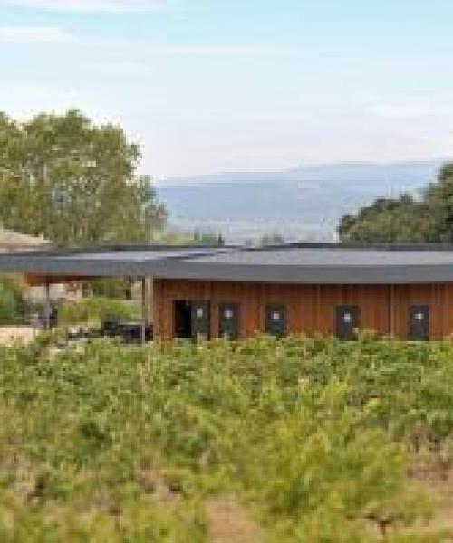 Bâtiment professionnel : Cave vinicole moderne Bonnieux : 3e partie