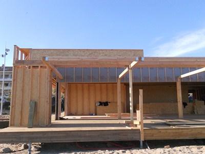 r alisation d 39 un restaurant de 500m2 toit plat maisons neuves. Black Bedroom Furniture Sets. Home Design Ideas