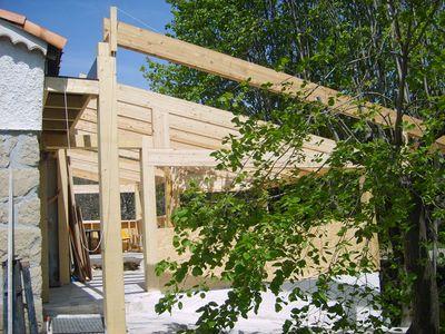 agrandissement en bois de 50 m aubagne. Black Bedroom Furniture Sets. Home Design Ideas