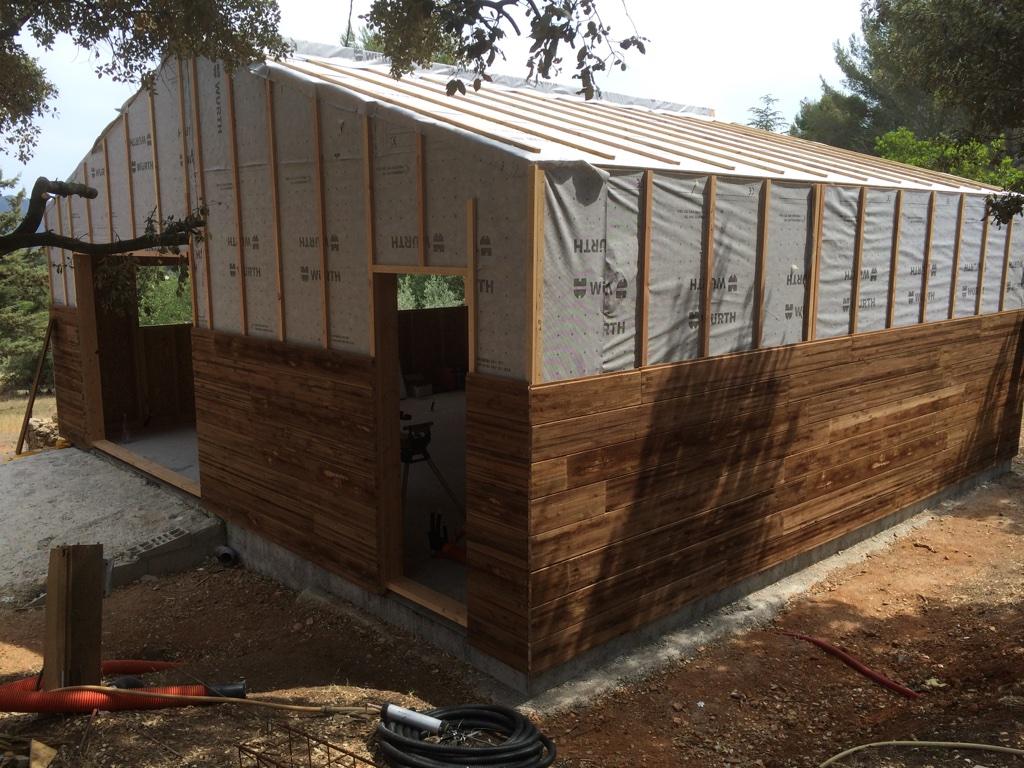 Construction neuve atelier menuiserie 59 m2 actualit s for Prix au m2 construction neuve