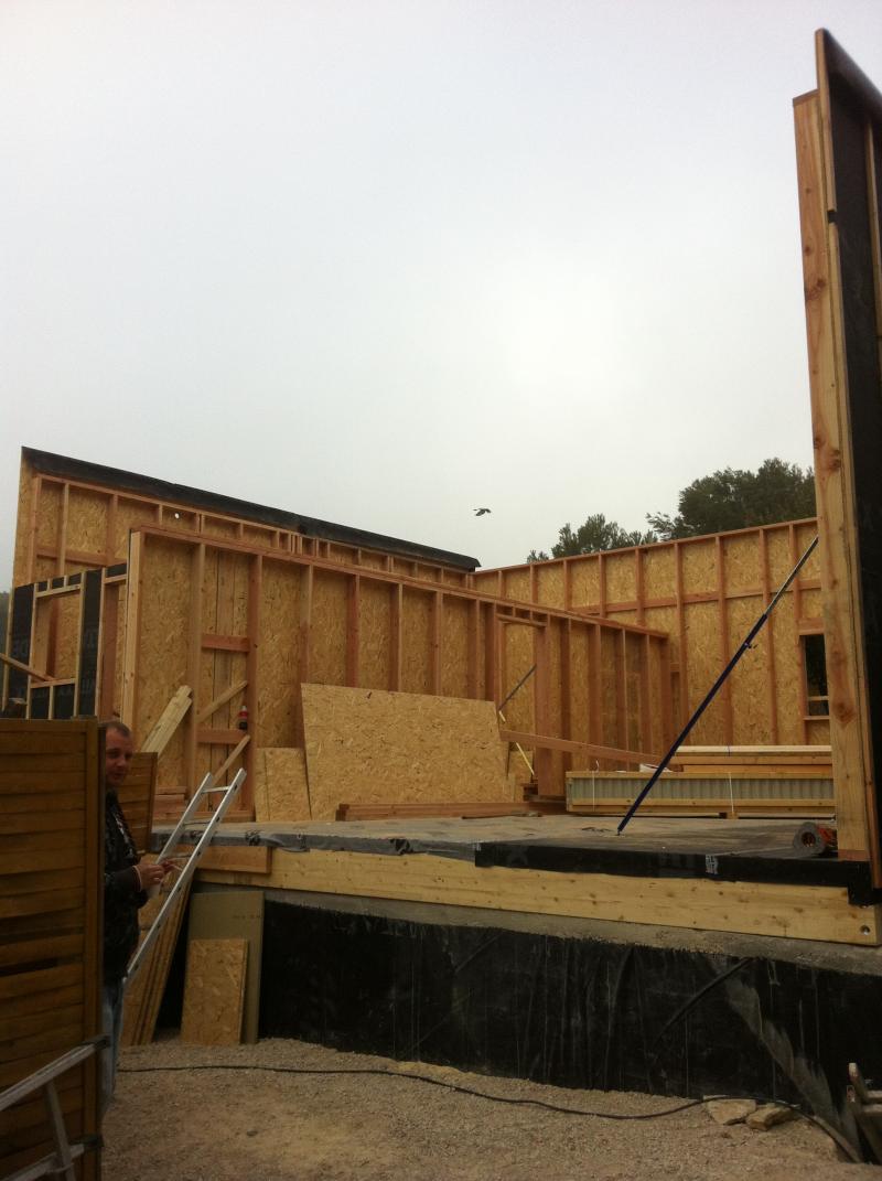 Maison ossature bois paca - Construction maison marseille ...