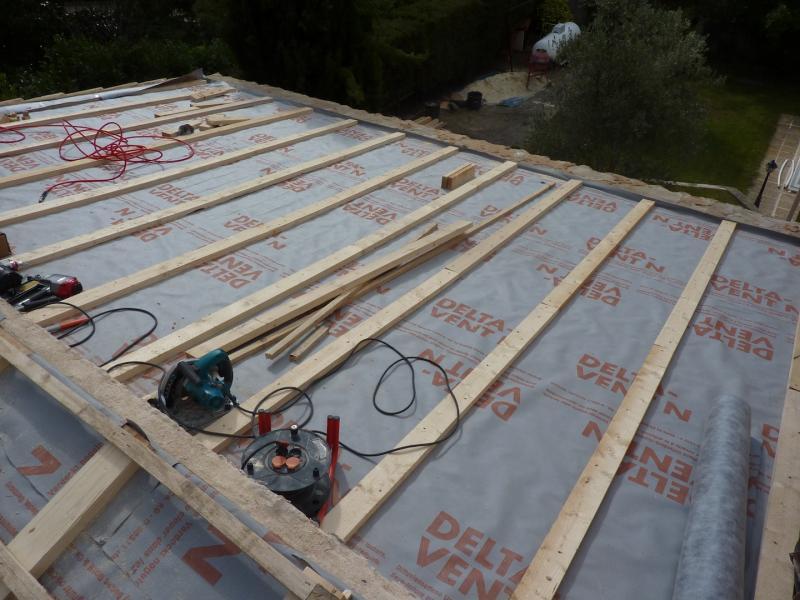 isolation thermique sur une toiture traditionnelle charpentes et toitures. Black Bedroom Furniture Sets. Home Design Ideas