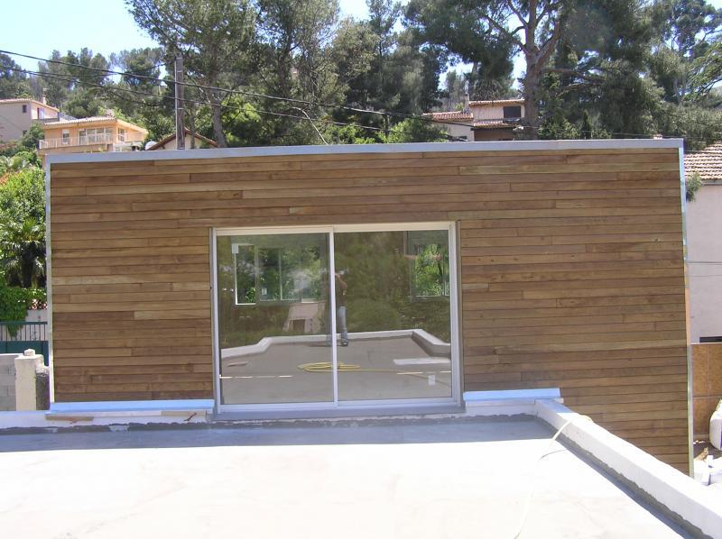 r alisation agrandissements en bois nos r alisations en bois. Black Bedroom Furniture Sets. Home Design Ideas