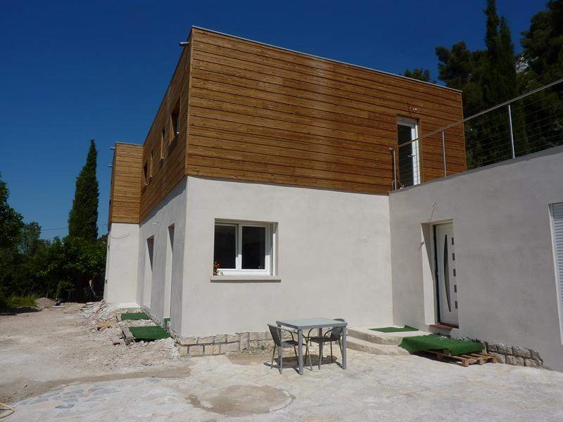 Terrasse bois paca for Constructeur maison bois paca