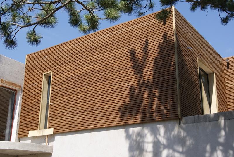 Maison bois paca for Agrandissement maison 59